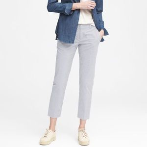 Banana Republic Seersucker Avery Pant